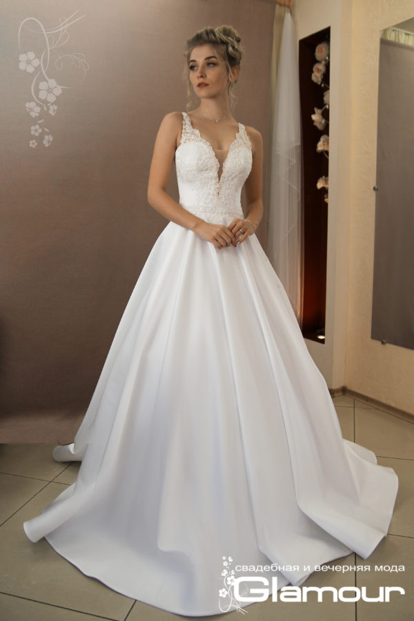 Favorite A- line wedding dress TATYANA SINKO