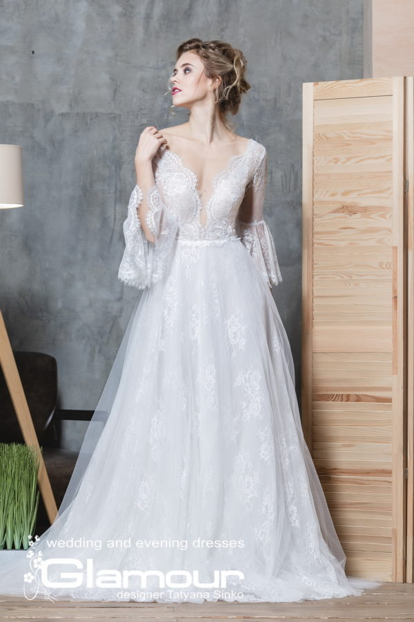 Amur Псд-108 boho wedding dress SINKO