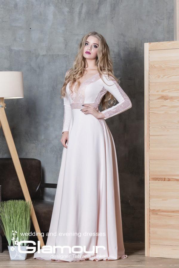 JERSEY ПСД-10-3ev wedding party dresses