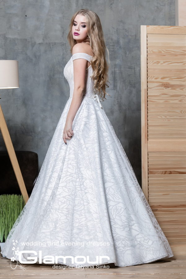 GLITTER ПСД-100-3 wedding dress TATYANA SINKO