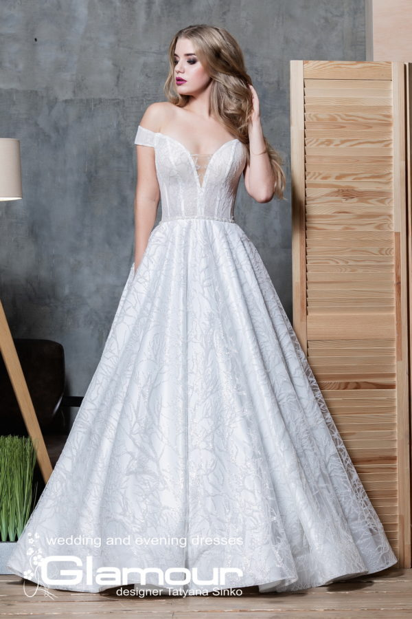 GLITTER ПСД-100-3 dresses in bulk TATYANA SINKO