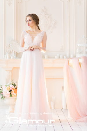 Pretty boho wedding dress TATYANA SINKO