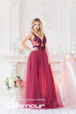 PLUMERIA IDI-32 evening dresses DESIGNER SINKO