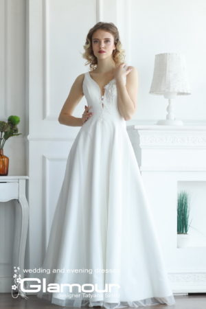 CLASSIC WDl-124 lace wedding dress SINKO