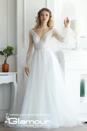 EASE WDl-120 boho wedding dress SINKO