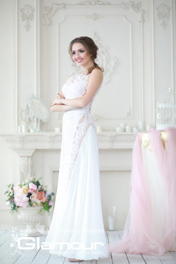 lace wedding dress, свадебное платье с кружевными вставками, свадебное платье кружевное SINKO-bridal dresses, SINKO-bridasleeveless wedding dress, lace wedding dress, BUTTERFLY wedding dress Sinko designer, lace wedding dress SINKO SV-GLAMOUR