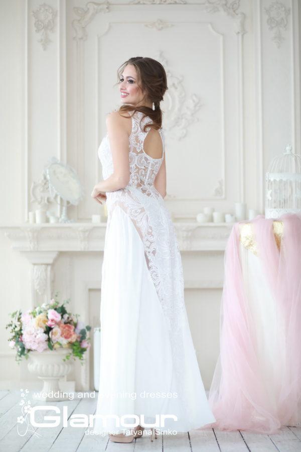 свадебное платье с кружевными вставками, свадебное платье кружевное SINKO-bridal dresses, SINKO-bridasleeveless wedding dress, lace wedding dress, BUTTERFLY wedding dress Sinko designer
